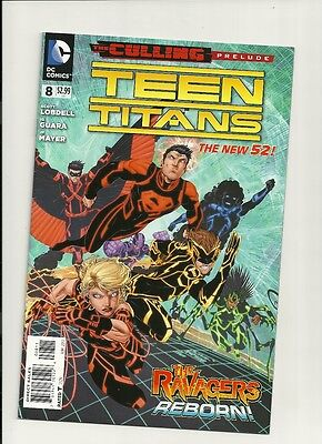 "Teen Titans #8 (Jun 2012 DC) NEW 52 1ST PRT NM- NEW! ""THE CULLING!""  PRELUDE!!"
