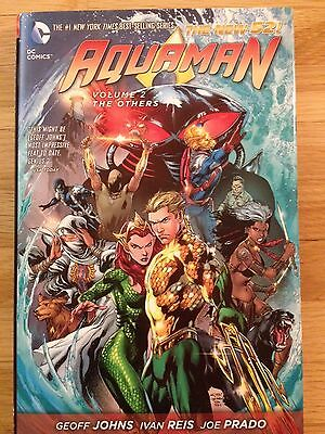DC Comics Aquaman Volume 2 (# 7-13) The Others Hardcover- New 52, Geoff Johns