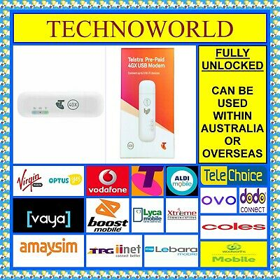 Huawei E8372 4G Usb+Wifi Modem+Use Telstra/vodafone/lebara/amaysim/dodo/virgin