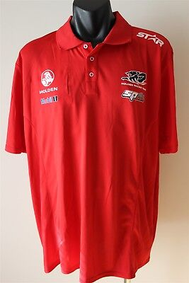 Holden Racing Team Polo Shirt Official Team Product Men's Size 2Xl Bnwt