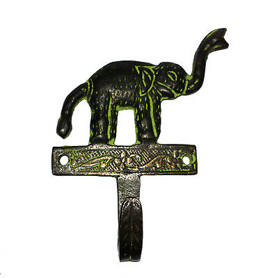 An Attractive Brass made Unique Elephant Designed COAT HOOK from India