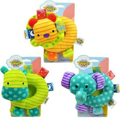 New Cute Baby Kids Sound Music Gift Toddler Rattle Musical Animal Plush Toys KW