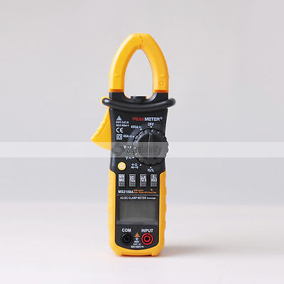 MS2108A AC/DC Clamp Meter Multimeter Voltmeter Resistance Ohm 4000 count