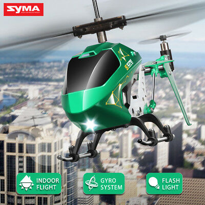 Syma S107 S107E 3.5Ch Remote Control LED Light RC Helicopter with Gyro AU STOCK