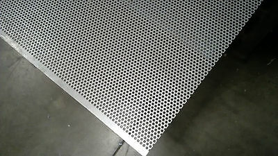 2 Stainless Steel Decorative Perforated Sheet 304 Grade  - 3 mm Holes 5 mm Pitch