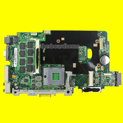 For ASUS K70IJ Laptop Motherboard 60-NWLMB1000-B05 69N0FFM10B04 Mainboard Test