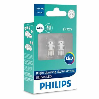 Philips LED T10 [~W5W] 12V 6000K daylight effect Interior light 127916000KX2 Set