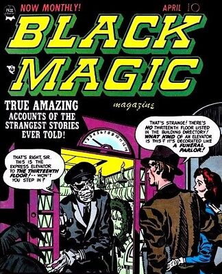 Black Magic Magazine - Vintage Horror Classic Mystery Comics Compilation on DVD