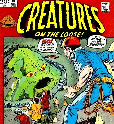 Creatures on the Loose - Vintage Monster Horror Classic Comics on DVD