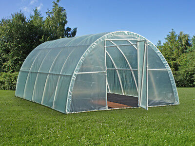 Serre Tunnel Light 3x6x1,9m, Transparent