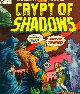 CRYPT OF SHADOWS & DARK MYSTERIES - Vintage Monster Horror Classic Comics on DVD