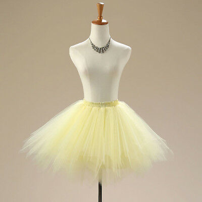 1-7Years Girls Princess Ballet Tutu Skirt Tulle Costume Party Dancewear 3Layers