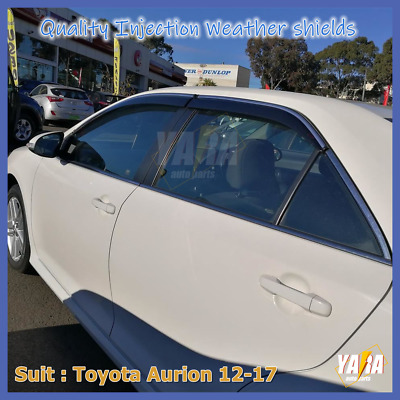 InjectionWeather Shields Weathershields  Visors for TOYOTA Camry 2012-15