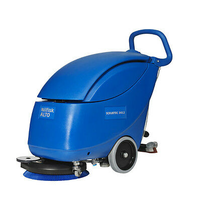 Nilfisk Scrubtec 343.2 Walk-behind Scrubber Dryer - APPROVED STOCKIST