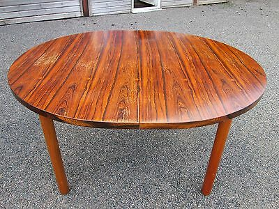 Vintage Retro Danish Style Mid Century Rosewood Extending 6ft Dining Table