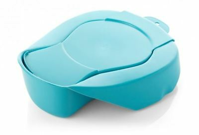 Spa Hospital Bedpan With Lid, British Standard, Capri. 355x308x108mm