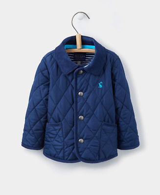 *SALE* Joules Infant Milford Quilted Jacket - Navy