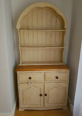 Shabby chic upcycled Annie Sloan Dutch dresser solid wood