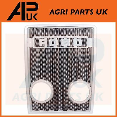 Ford Tractor Front Grille Grill Light Lamp Holes 2600 3600 3900 4600 5600 5900