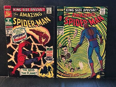 Silver Age Amazing SPIDER-MAN ANNUAL #4 and 5 HIGHER GRADE KEY