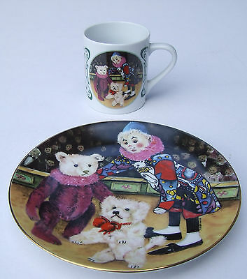 Steiff Club Sammelteller und Becher, Century Collection