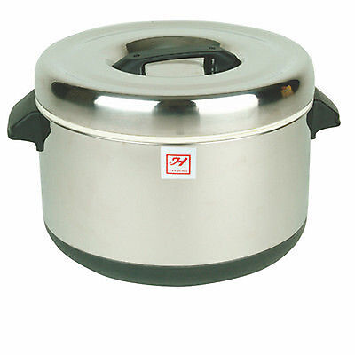 Thunder Group SEJ74000 60Cup Stainless Insulated Sushi Pot Sushi Rice Warmer
