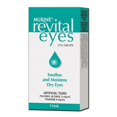 Murine Revital Eyes 15ML NEW Cincotta Chemist