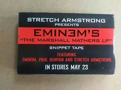 Stretch Armstrong Presents Eminem's The Marshall Mathers LP Snippet Tape 2000