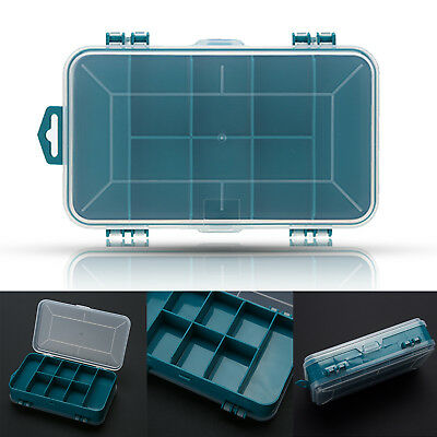 Double-Side Plastic Tool Box Case Small Components Tool Storage Box Organizer