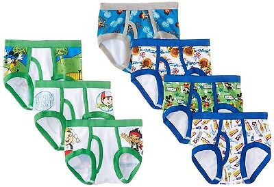 Disney Junior Toddler Boys 7 Pack Underwear Briefs