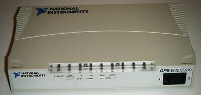 National Instruments NI GPIB-ENET/100 Device Ethernet GPIB Controller *Tested*