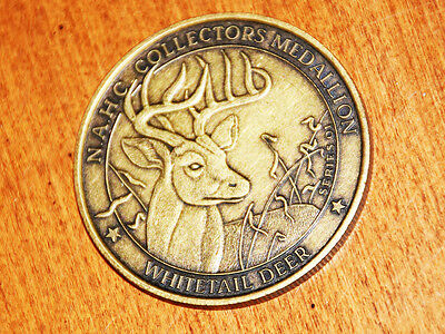 North Amercn Hunting Club Collectible Hunting Medallion Whitetail Deer Series 01