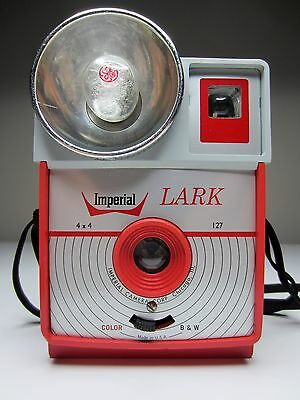 Imperial Camera Imperial LARK 127- Red and Grey Imperial Lark 127 - Display Only