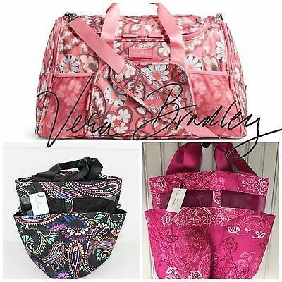 Vera Bradley Bags Totes & More 4 Different Designs to Choose From!