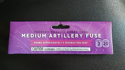"Medium Artillery Hobby ""CANNON FUSE"" Safety Fuse Labels +"