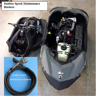 SEADOO SPARK MAINTENANCE HARNESS  ++ Run your Spark with the top deck  removed +