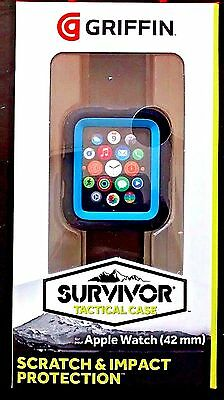 Griffin Technology - Survivor Tactical Cover for Apple Watch 42mm - Blue