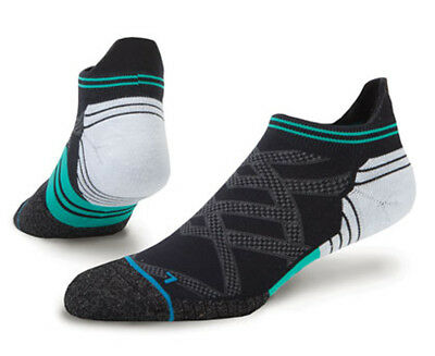 Stance Men's Common Tab Run  Sock - Teal/Multi