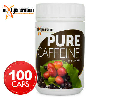 Next Generation Pure Caffeine 100 Tabs