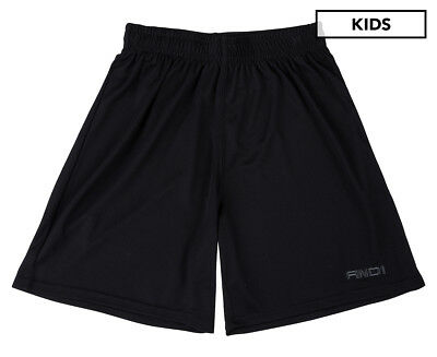 AND1 Kids' No Sweat Junior Basketball Short - Black