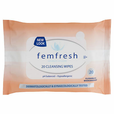 Femfresh Wipes 20 NEW Cincotta Chemist
