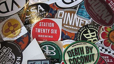 Craft Brewery Beer Stickers!!! (LOT of 8)
