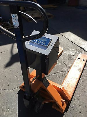 Pallet Jack With Scale
