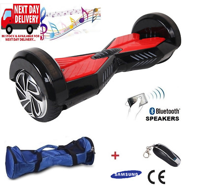 "Bluetooth Hoverboard 6.5"" Swegway 2 Wheel Balance Board Samsung Battery Ce"