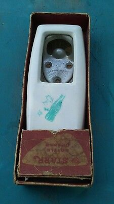 Coca-Cola STARR Bottle Opener by Brown Co, Wall Mount, w/original box