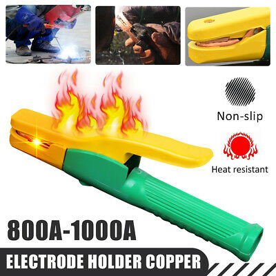 800A-1000A Electric Electrode Holder Capacity Heat Resistant Copper Welding