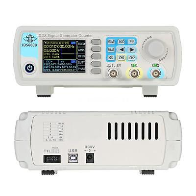 Digital Dual-channel DDS Signal Generator Counter Kit Arbitrary Waveform 15MHz