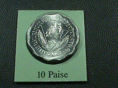 INDIA   10  Paise   1974 - B   BRILLIANT  UNCIRCULATED   ,   MINT  SET