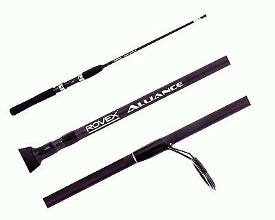 Rovex 7ft Alliance 2-4kg Graphite Fishing Rod - 2 Pce Spin Rod