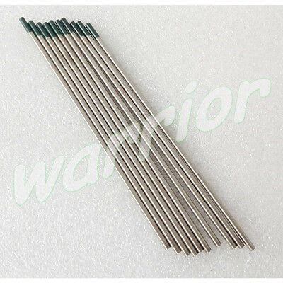 Green Tips Pure Tungsten Electrodes WP TIG Welding Rod 1.0 1.6 2.4 3.2MM